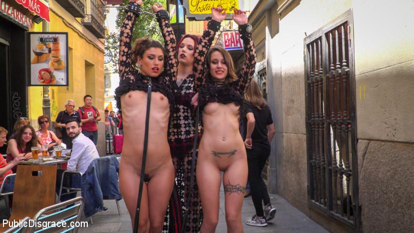 Alexa Nasha Julia Roca - Walk Of Shame - Publicdisgrace -1514