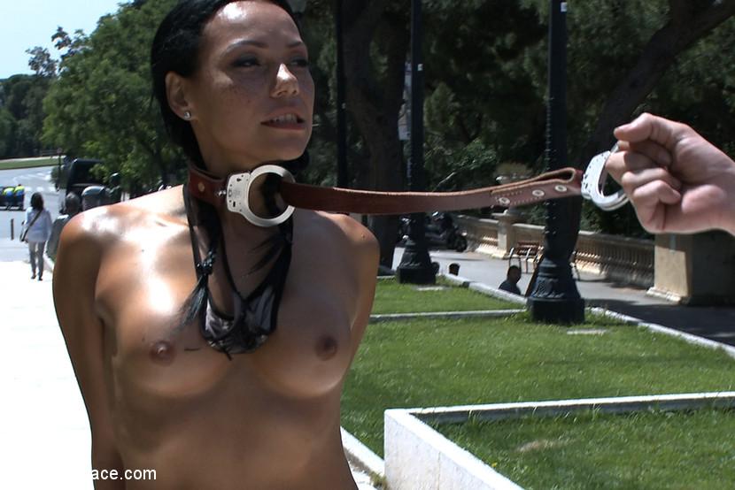 Channel nude in public 4