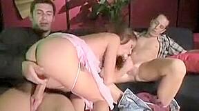 Daily double penetration porn vintage