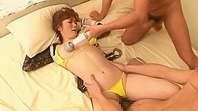 Asian japanese milk squirt