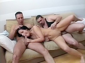 Asian jade marcela gets double penetrated