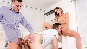 Mmt bisexual interracial threesome