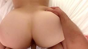 Wife measures cock vid