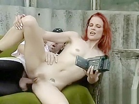 Anal redhead outdoor toys