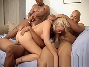Wild raw group sex