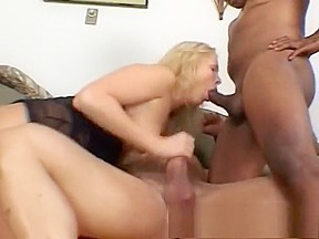 Teen interracial gang bang
