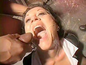 Men eating creampie gangbang cockold