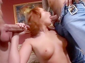 Rough sex with red heads