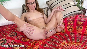 Masturbated doctor nurse head parted