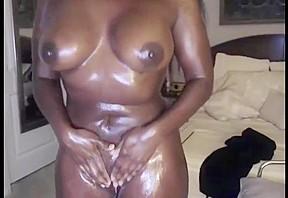 Ebony mature lesbians toying tube