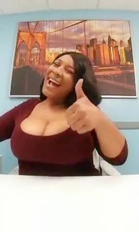 Latina woman belly pain