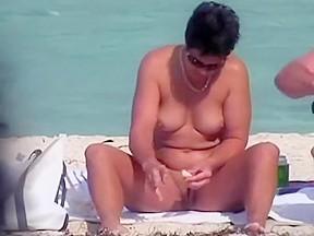 Women caught pissing outdoors