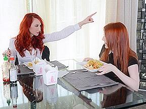 Redhead vixen porn star