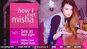 Miguel Zayas Misha Cross in How I met Misha - Ep. 1 - VirtualRealPorn