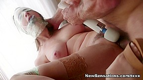 Ashley Adams Ramon Nomar in Bound Hotwife Ashley Gets It Very Different Today - NewSensations