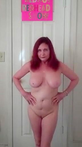 Atm hairy redhead kitty