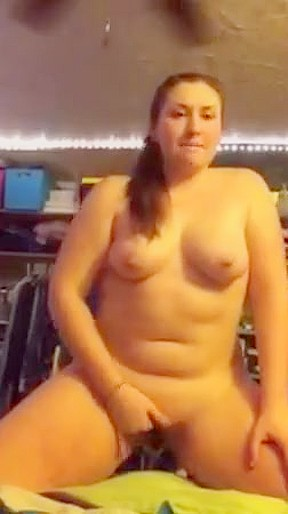Bbw blowjob mouthful pov