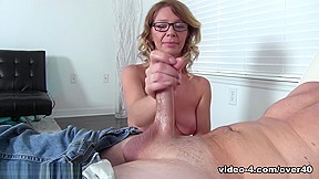 Hot sexy real gf gives handjob