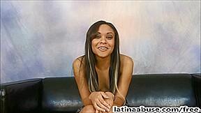 Big tit latin babe