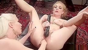 Lesbians licking ass close up