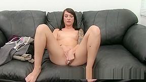 Redhead gets pussy creampie