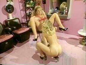 Lesbian blue stockings video