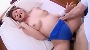 Hot asian with big tits masturbating