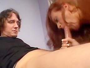 Hairy redheaded milf exposes her