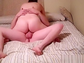 Wife fucking her own ass