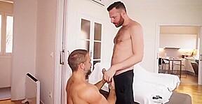 Action gay man visual