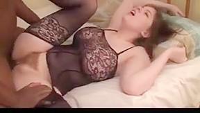 Caught on camera black stockings