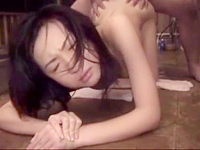 Wife tricked blindfolded threesome