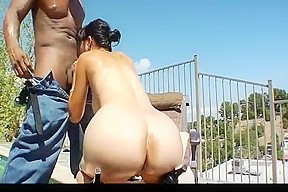 Straight forced anal tranny