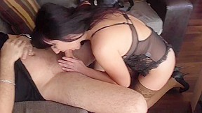 Young black-haired girl sex