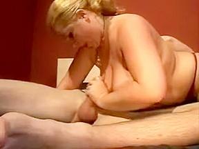 Brunette mature big tits