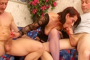 Mature pantyhose sex pic black
