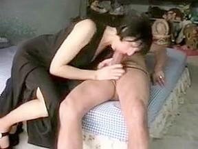 Latin girls taking big dick
