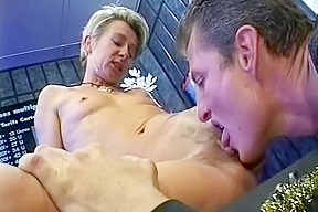 Tessa taylor blonde private dancer