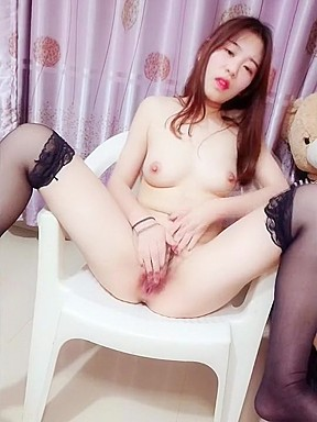 Korean modeled pussy show