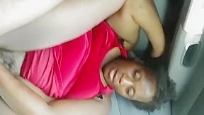 Ebony franchuta pedicura feet