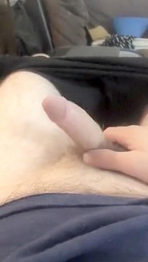 Hand job with bead