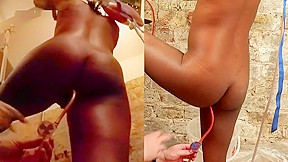 Big ass ebony webcam