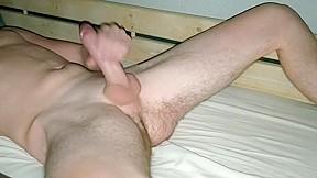 Fat reach around handjob