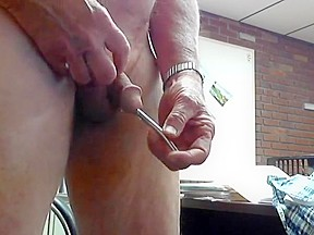 His first huge cock gay