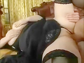 Chubby blond amateur blowjob