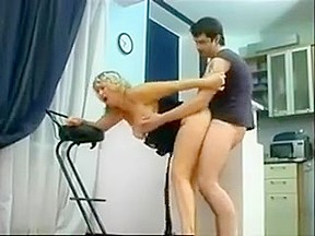 Married couple fuck in bathroom