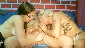 Blonde twins fucked hard