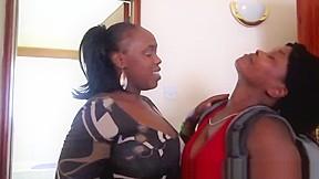 Ebony babe big tits