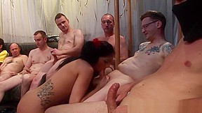 Group sex in a theather