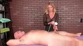 Young ebony handjob on white cock